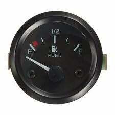 "Universal Car Fuel Level Gauge Meter With Fuel Sensor E-1/2-F Pointer 2"" 52mm"