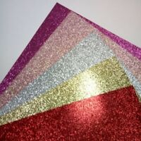 Glitter Card X10 A4 Sheets Flash Paper Fixed Glitter Single Sided Craft 220gsm