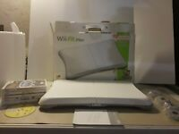 Nintendo Wii Fit/ Wii fit Plus- Balance Board With 6 Games/box/stands  - Tested