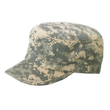 Enzyme Regular Solid Army Caps-Digital