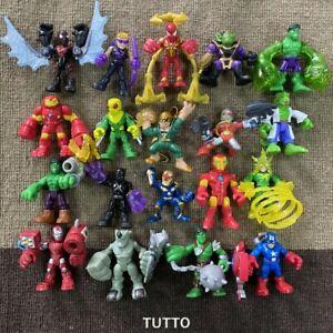 Lot Playskool Marvel Super Hero Squad Power Up Adventures Figures Toys Kids Gift