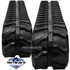 Two Rubber Tracks Fits JCB 8018 230X48X62 Free Shipping