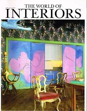 THE WORLD OF INTERIORS 04/2012 RICKY CLIFTON Emma Campbell RUSSEL WRIGHT @excl
