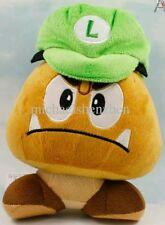 SUPER MARIO BROS. LUIGI CAPPELLO GOOMBA PELUCHE - Hat Cap Plush Nintendo