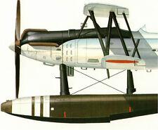 IJN KAWANISHI E7K ALF Japanese Navy Reconaissance Seaplane Maru Mechanic 36