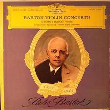 GYORGY GARAY bartok violin concerto LP Mint- SLPM 138 786 DG Stereo Tulip 1963