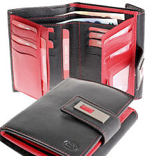 XXL große Damen Portemonnaie Geldbörse Geldbeutel Leder 16 Karten neu