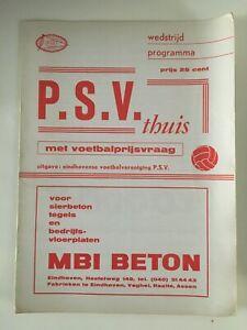 PSV Eindhoven v Haarlem 1972 1972/73 Dutch League Ere Divisie