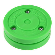 Green Biscuit GB Off-Ice Hockey Training Puck Street Stick Handling Pass Sauce