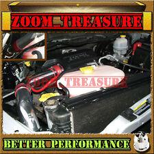 RED CHF 2002-2010/02-10 DODGE RAM 3.7L 4.7L 5.7L COLD AIR INTAKE KIT STG2 3p