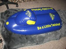Twisted Tea Brand Inflatable Snowmobile Sled