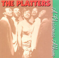 THE PLATTERS - A CHRISTMAS  ALBUM - NEW SEALED CD - 10 SONGS