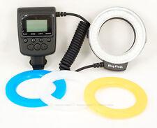 RF-550E Macro 48 pcs LED Ring Flash Light with bounce for SONY Camera Hot Shoe