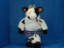 Vintage More Cowbell Build A Bear Boxer Shorts Cow Plush Stuffed Animal Toy
