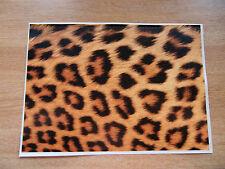 Sticker Bomb Hoja-Leopard Print-A4 tamaño