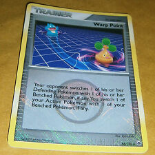 POKEMON LEAGUE PROMO CARD - MAJESTIC DAWN - WARP POINT 88/100 (REV HOLO)