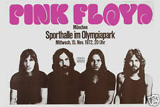 Roger Waters &   Pink Floyd at  West Germany Fair Concert Tour Poster 1972