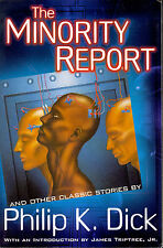 The Minority Report by Philip K. Dick-2002 Lg PB with production error