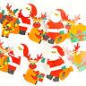 2M Père Noël Noël Fanion Suspendu Drapeaux Bannière Banderole Fête Décor