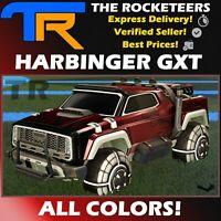 [PC] Rocket League Every Harbinger GXT Limited Battle Car Grey Crimson etc.