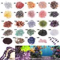 100g Natural Stone Pebble Crystal Gravel Flowerpot Fish Tank Aquarium Room Decor