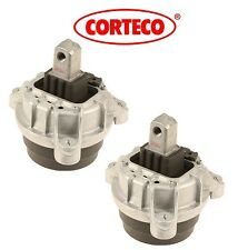 NEW BMW F10 528i 12-16 Pair Set of Left & Right  Engine Motor Mounts Corteco OEM