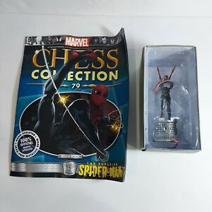 Marvel Chess Collection Superior Spider-Man White Rook Game Piece #79 Eaglemoss