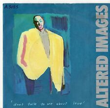 "Altered Images - Don't Talk To Me About Love 7"" Single 1983"
