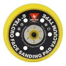 """6"""" Velcro Face Sanding Pad Air Vacuum Sander Grinder Tools For Grinding Sanding"""