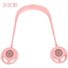 2020년형 목걸이 선풍기 / Pink / 머리카락끼임 방지 /넥밴드 휴대용선풍기/3단 풍력