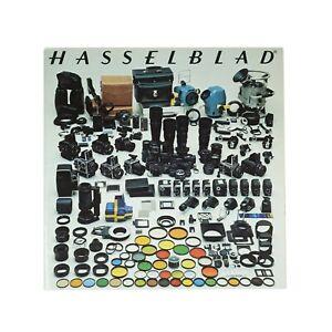 :Hasselblad 500CM 500EL/M 2000FC SWC System Catalog Lenses & Accessory Brochure