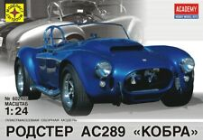 AC Shelby Cobra AC 289 (Academy Kit Repack) Modelist # 602405 1:24 Model kit