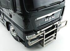 Für Tamiya MAN TGX Truck Frontstoßstange Alu Bumper front 1:14 1/14
