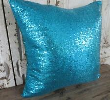 Unbranded sequin Square Decorative Cushions & Pillows
