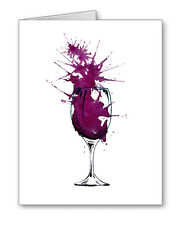 Cabernet Note Cards With Envelopes