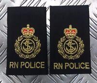 Genuine British Royal Navy POLICE RNP Chief Petty Officer (CPO) Rank Slides