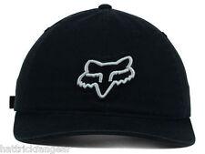 FOX RACING CARRYOVER RELAXED FIT ADJUSTABLE CAP - OSFM - BLACK