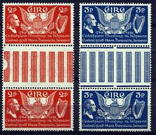 IRELAND . 1939 US Constitution GUTTER PAIRS (103-104) - Mint Never Hinged