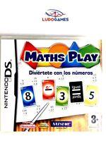 Maths Play Nintendo DS PAL/SPA Precintado Videojuego Nuevo New Sealed Retro
