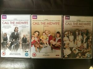 Call The Midwife Series 1 2 & Christmas Special DVD Bundle