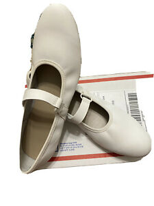 Womens Swinger Square Dance Shoes, Size 9.5 N, White