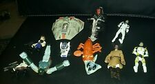 Star wars toy lot of 10 action figured toys vehicles mcdonalds movie r2d2