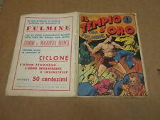 IL TEMPIO D'ORO CON FULMINE DISEGNI DI C.COSSIO ANASTATICA DEL 1975