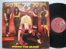 TWISTED SISTER Under The Blade ROCK LP ATLANTIC Hype Sticker ORIG INNER Sterling
