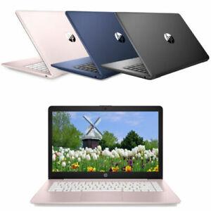 "New HP Stream 14"" (64 GB, Intel Celeron N4000, 1.10 GHz, 4 GB) Laptop"