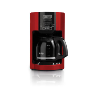 Mr. Coffee Advanced Brew 12 Cup Coffee Maker Machine Programmable Kitchen RED