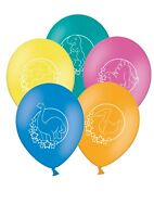 "Cute Dino - 12"" Printed Latex Balloons Assorted pack of 10 - Jurassic Dinosaurs"