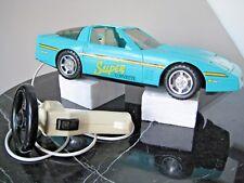 Vintage Battery Powered Corvette -  Navigational Steering Wheel & Pop-up Lights