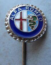 ALFA ROMEO Nadel kein Pin / Pins: Alfa Romeo Logo (silber) - emailliert