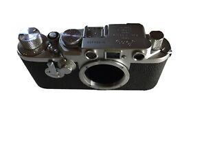 Leica IIIf DRP Nr. 694450 gebraucht mit viel Zubehör